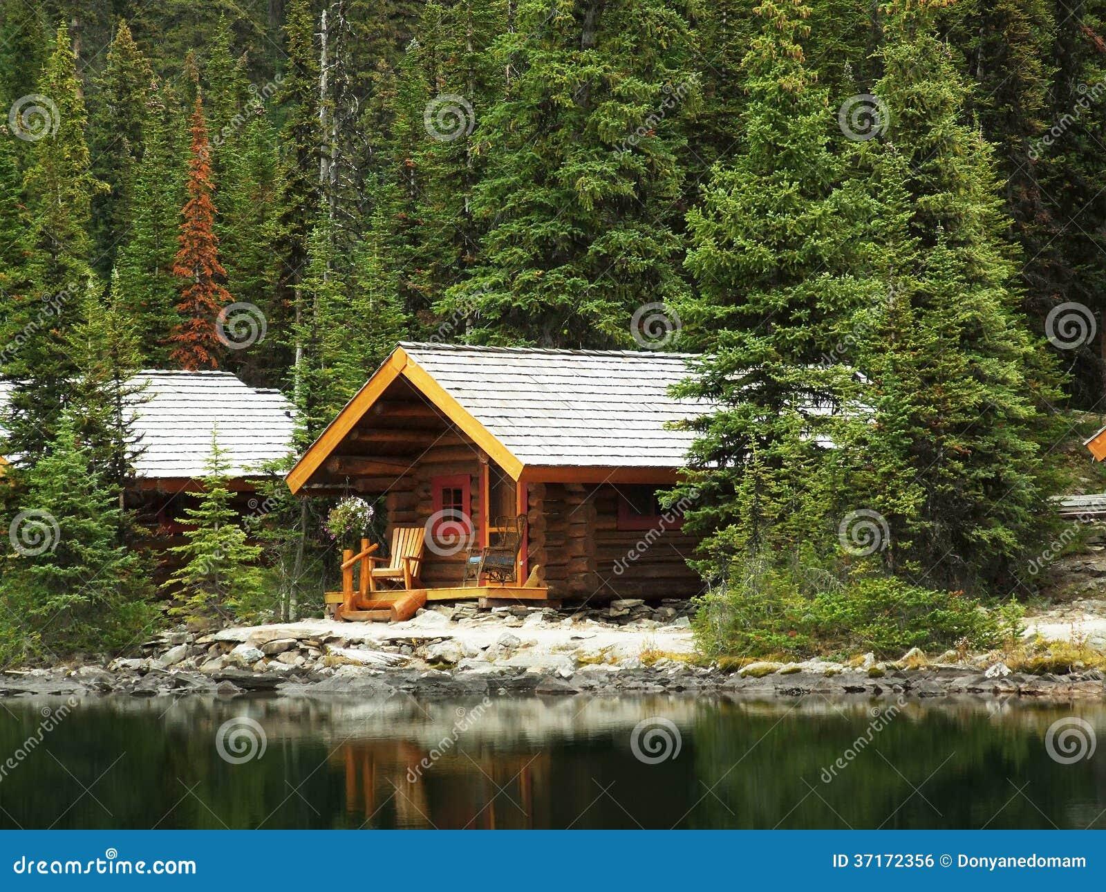 Wooden Cabins At Lake O 39 Hara Yoho National Park Canada