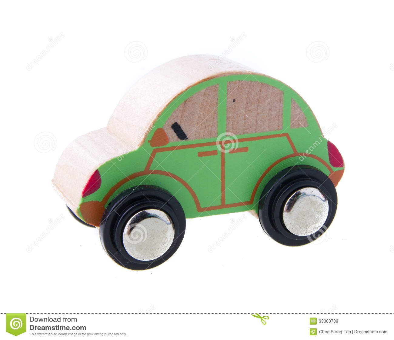 Wooden Cars Toys Royalty Free Stock Photos - Image: 33000708
