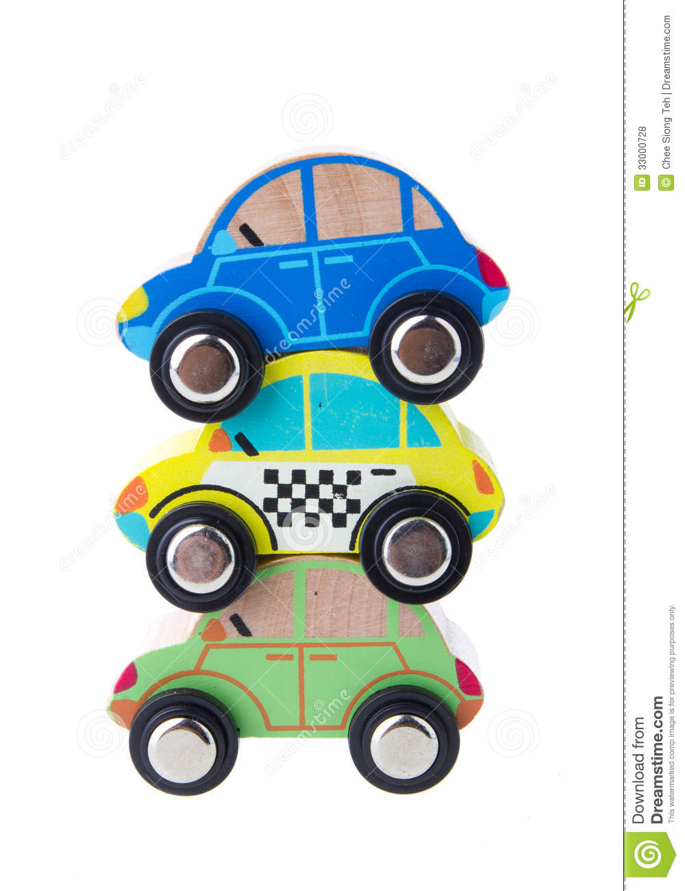 Wooden Cars Toys Royalty Free Stock Photos - Image: 33000728