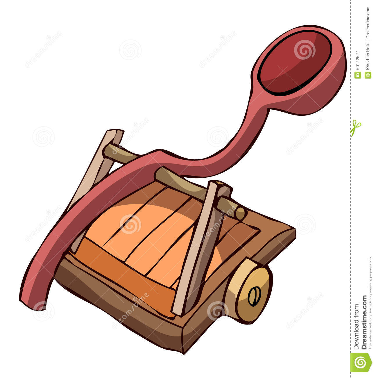 Ancient Catapult Cartoon Royalty Free Stock Photo - Image: 28577835