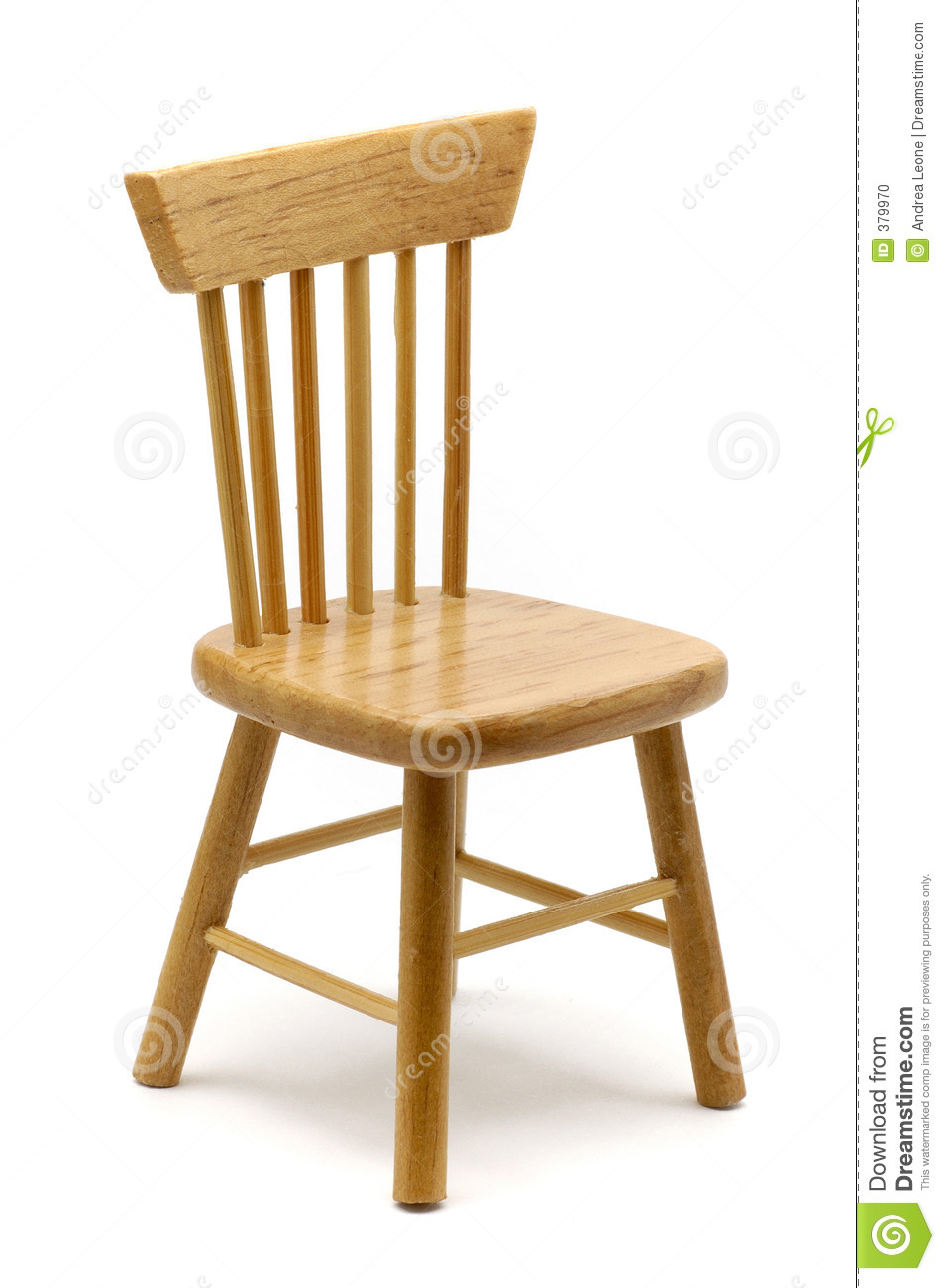 Wooden Chair Stock Photo Image 379970