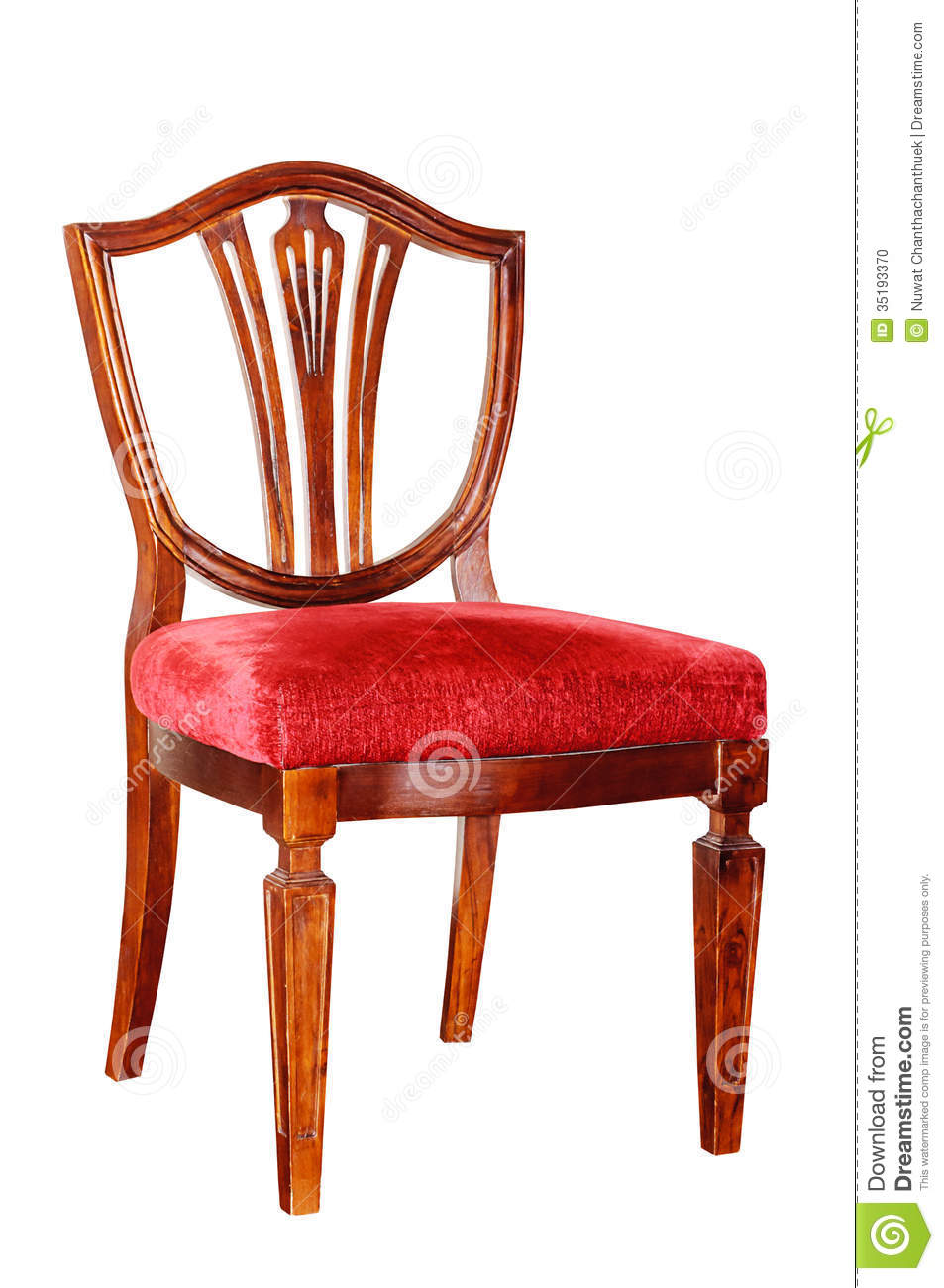 wooden chair stock photo image 35193370