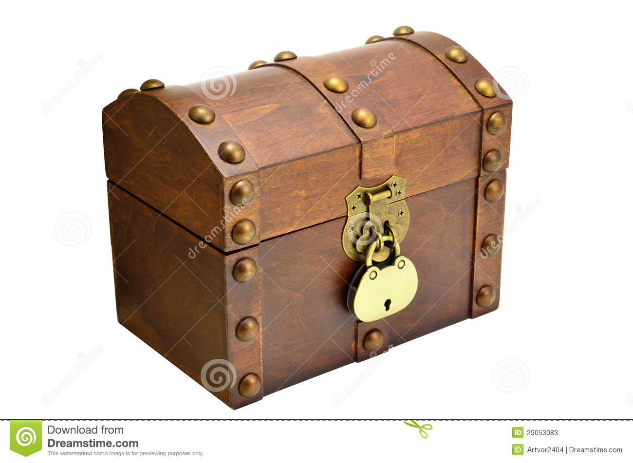 More similar stock images of ` Wooden chest with lock `