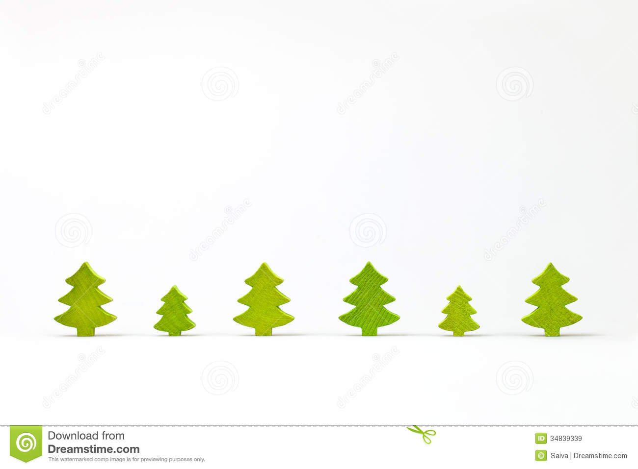 Simple Evergreen Tree Outline Wooden-christmas-tree-row- ... Simple ...