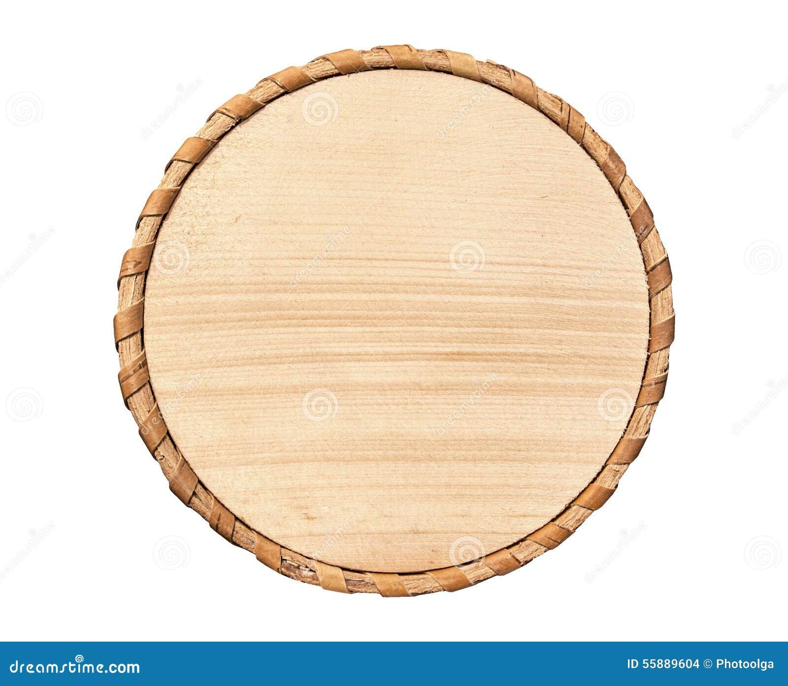 Wooden Circle Stock Photo Image 55889604