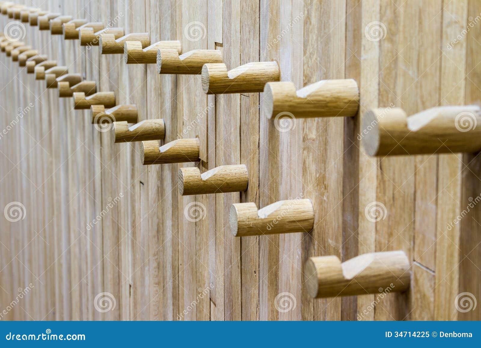 Wooden Coat Rack Royalty Free Stock Photo Image 34714225