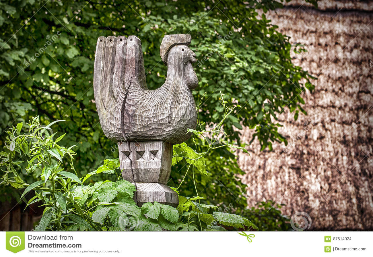 Wooden At The Gates Of The Old Farmhouse Stock Photo Image Of