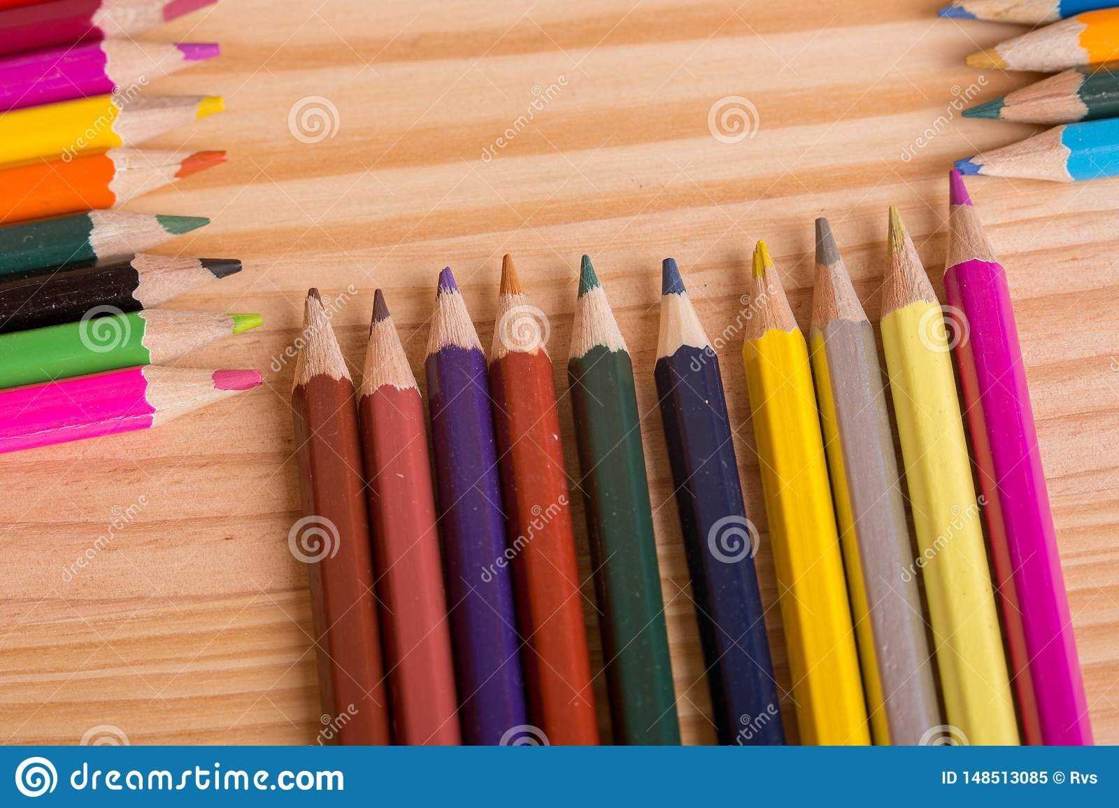 Colorful pencils