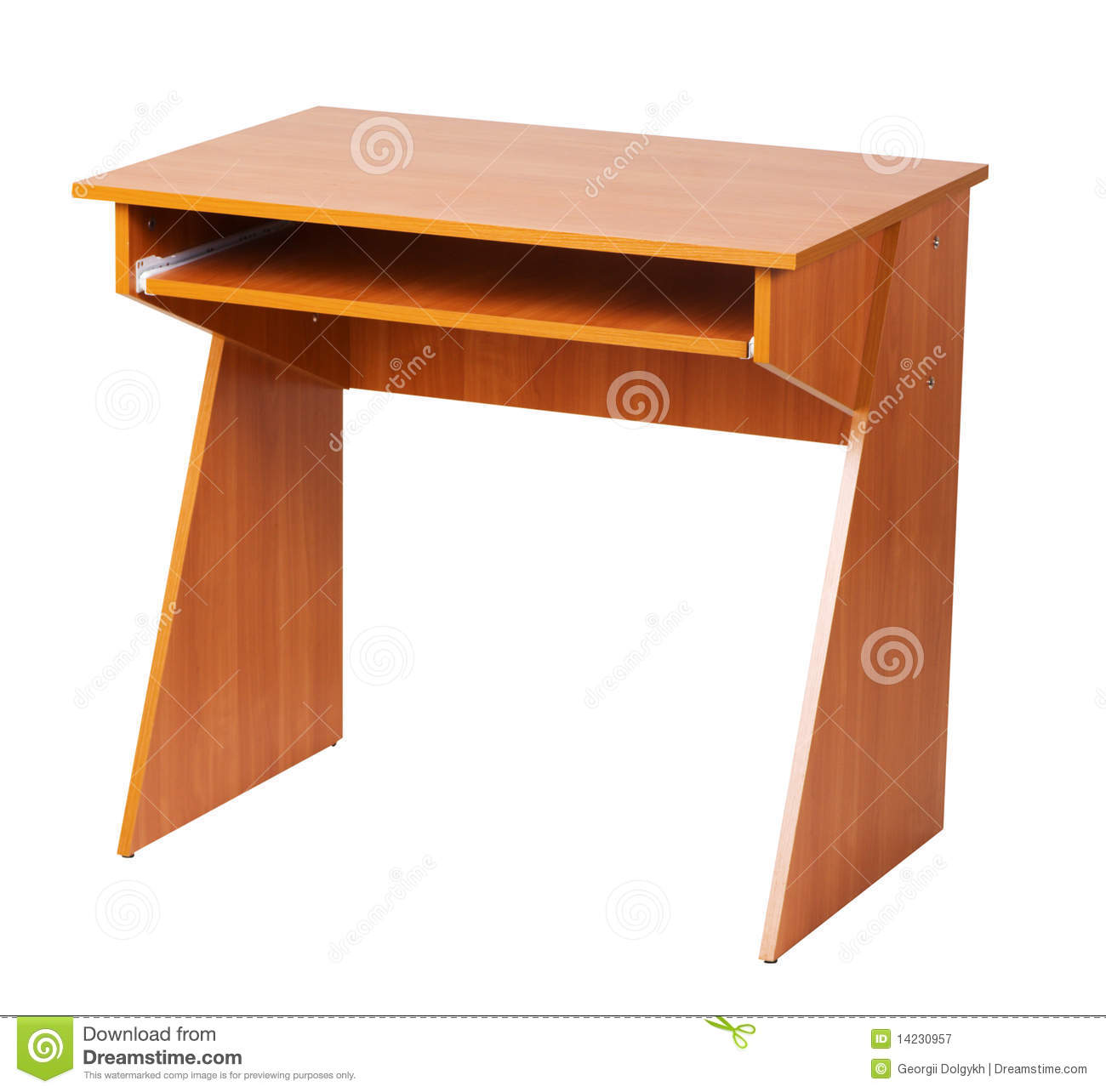 Very Impressive portraiture of Wooden Computer Table Royalty Free Stock Photography Image: 14230957 with #3A1409 color and 1300x1284 pixels