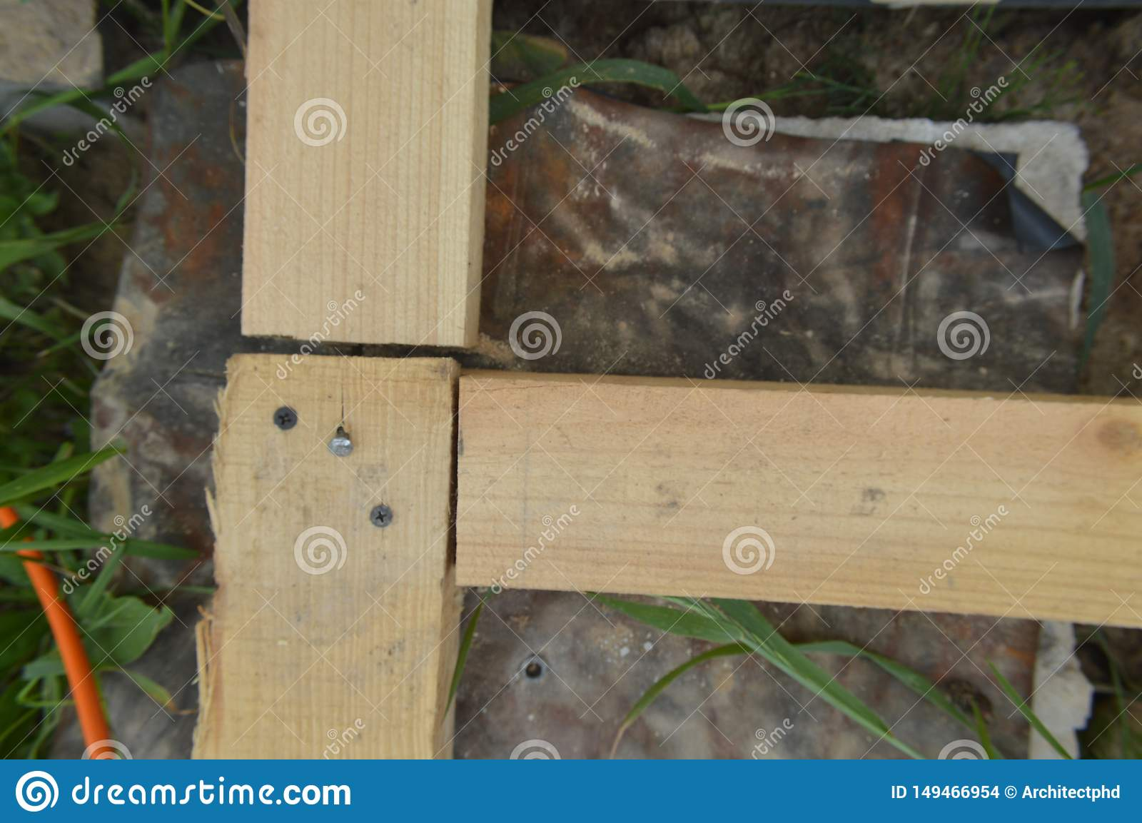Wooden construction and units