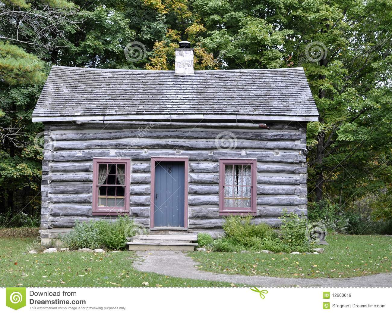 Wooden Cottage Royalty Free Stock Images Image 12603619