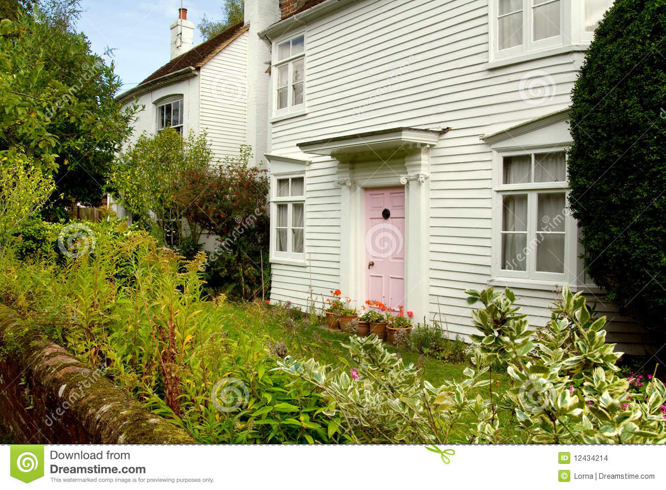 Wooden Cottage England Stock Images Image 12434214