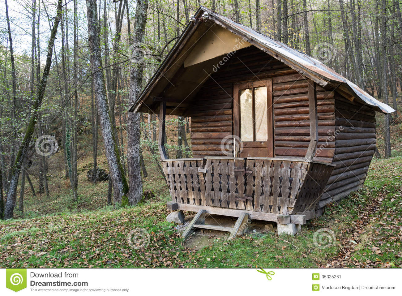 Wooden Cottage In The Woods Www Pixshark Com Images