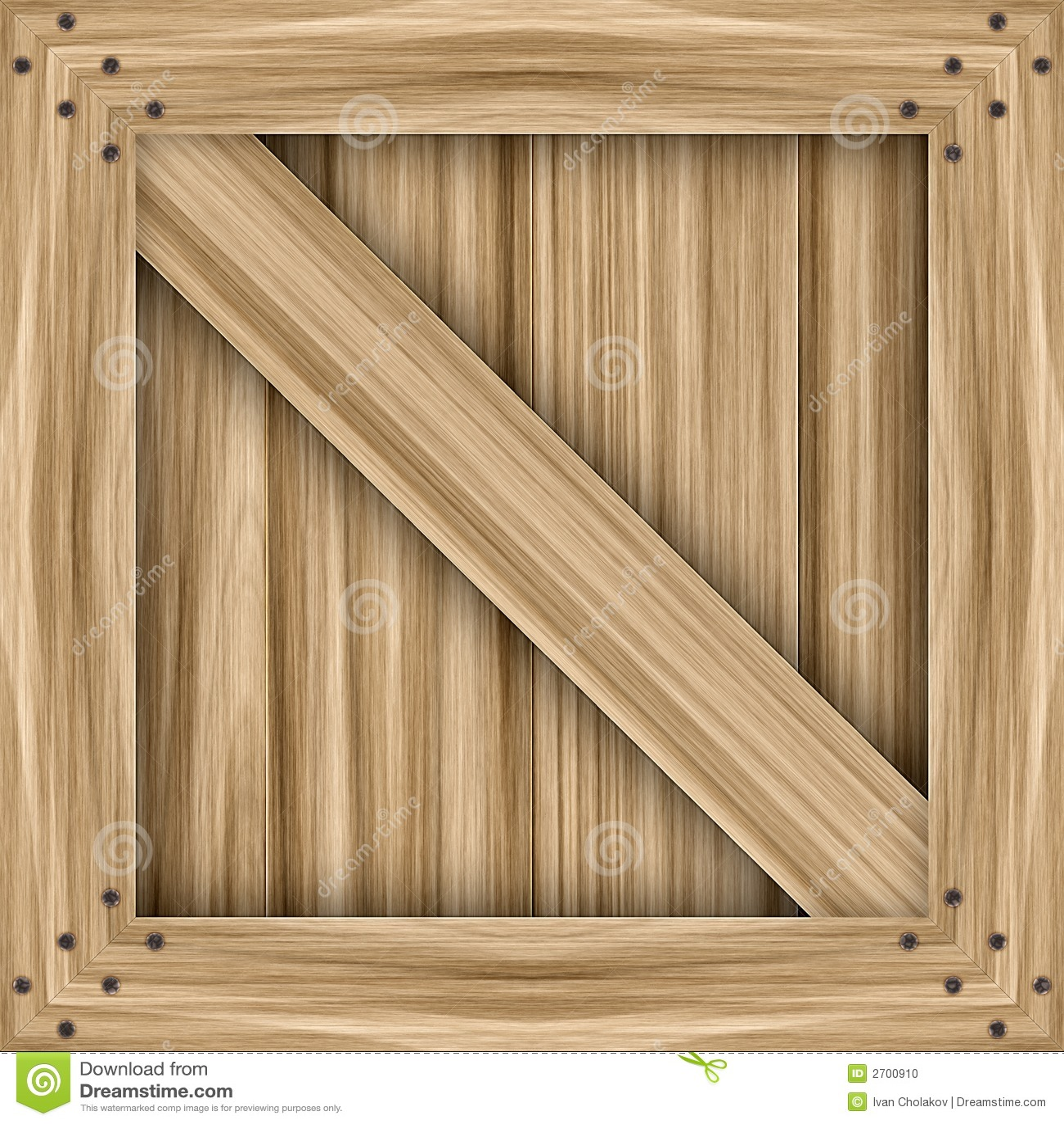 wooden crate stock illustration illustration of commerce 2700910