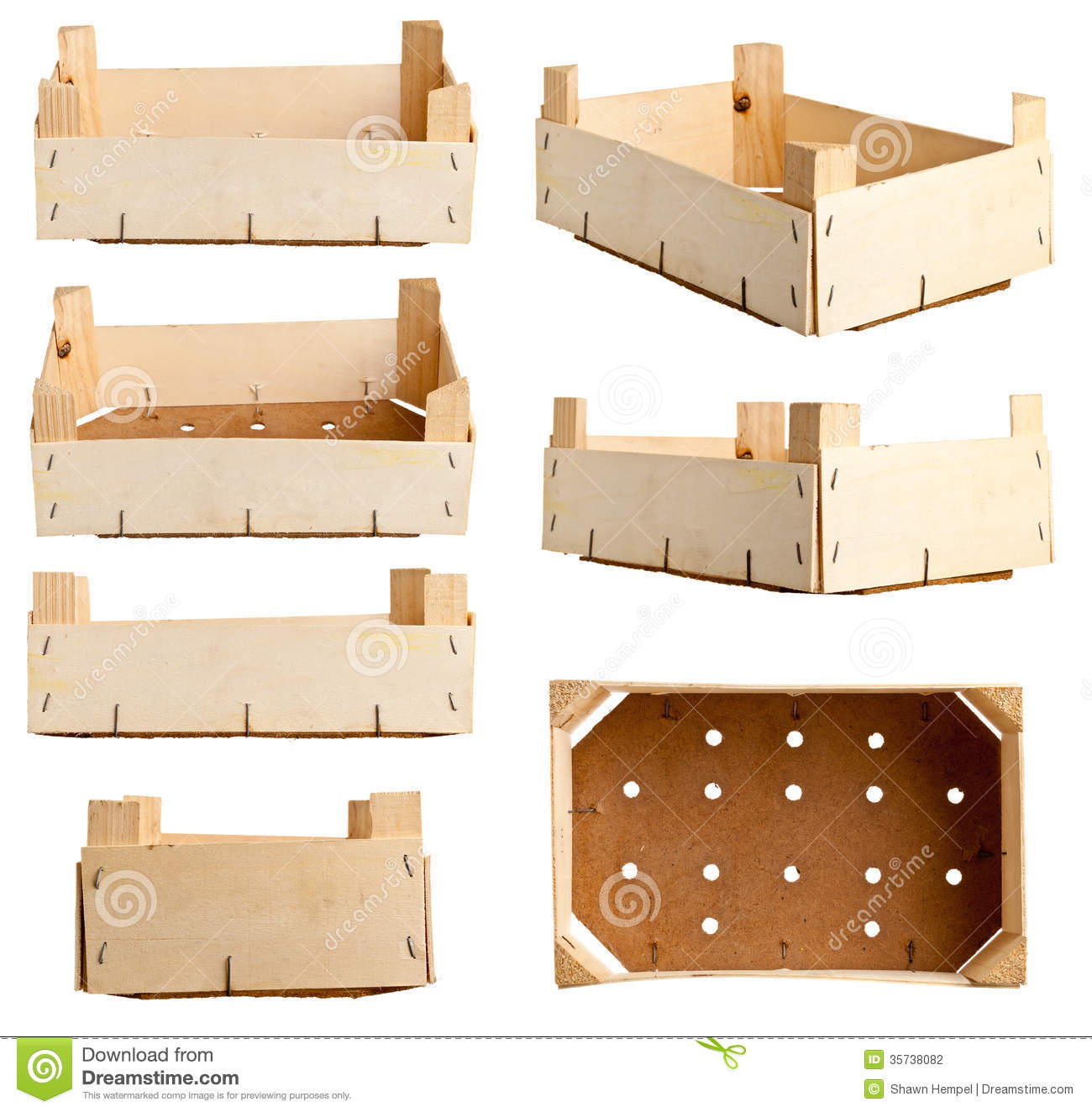 Wooden Crate Stock Photo Image Of Merchandise Packaging