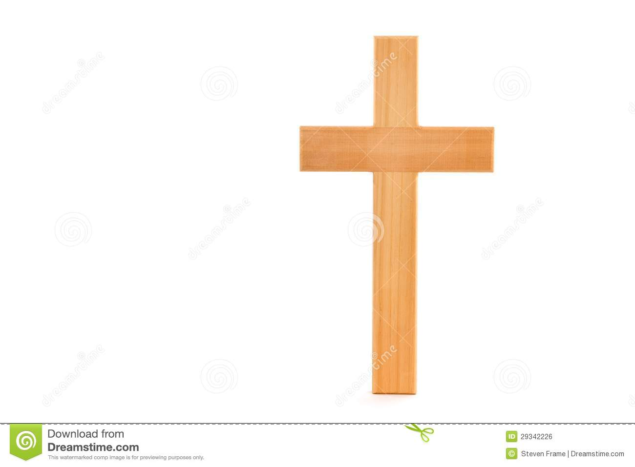Wooden Cross stock photo. Image of worship, religious - 29342226