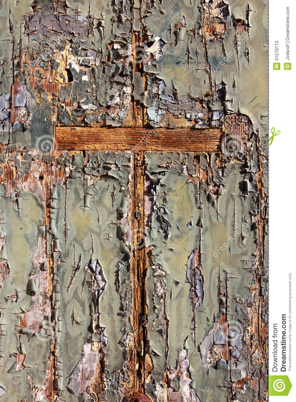 Wooden Cross Stock Image Image Of Cracked Dirty Grunge