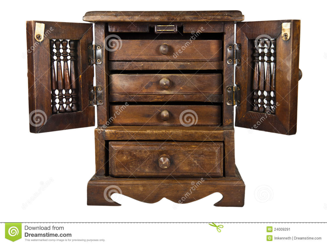 Wooden Cupboard Royalty Free Stock PhotographyImage 6460017