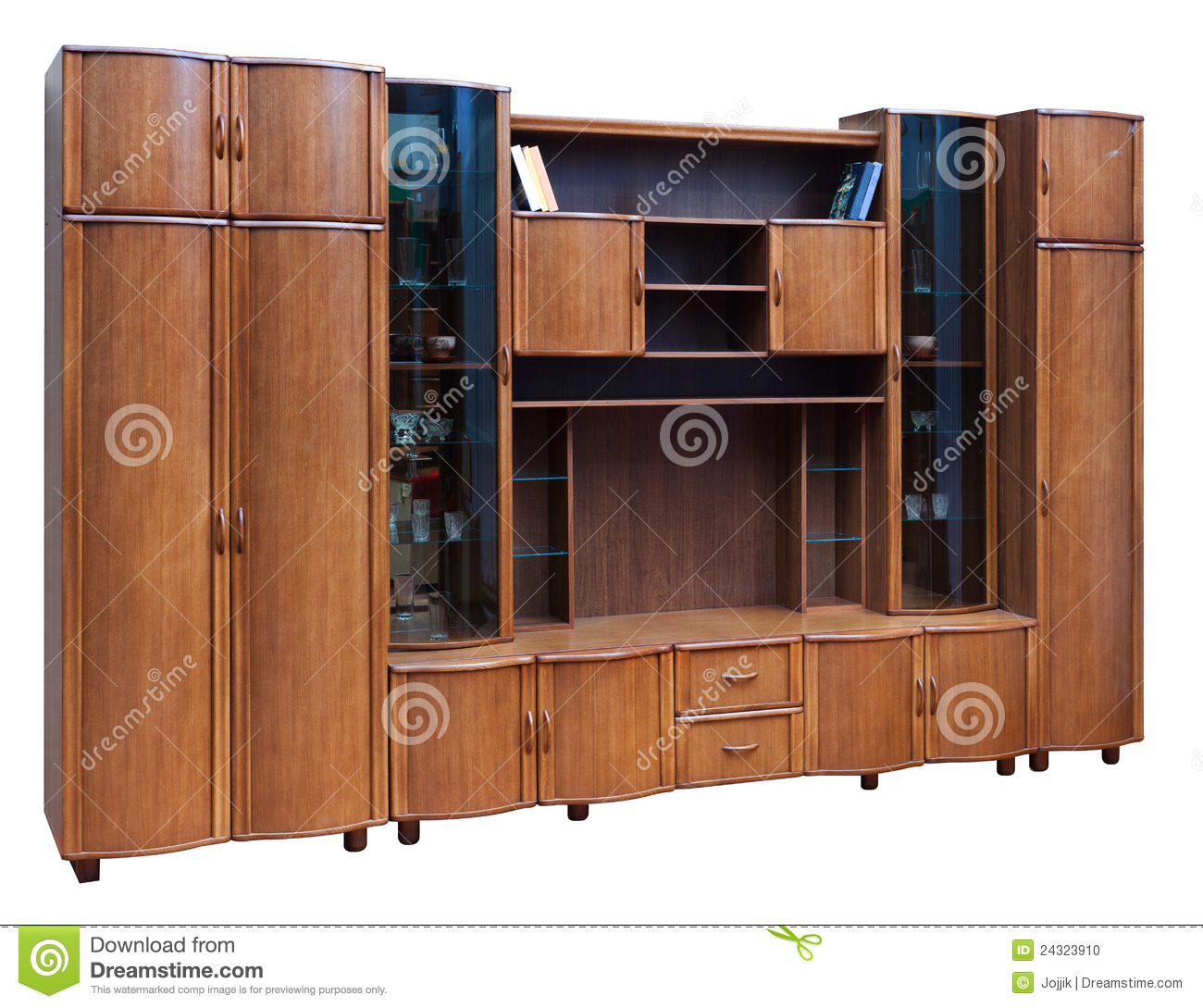 bookcase wardrobe low wooden cupboard interior doors