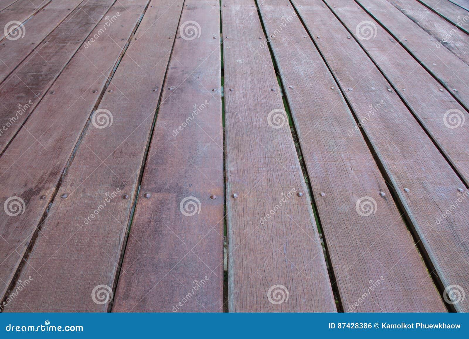 Wooden deck floor texture