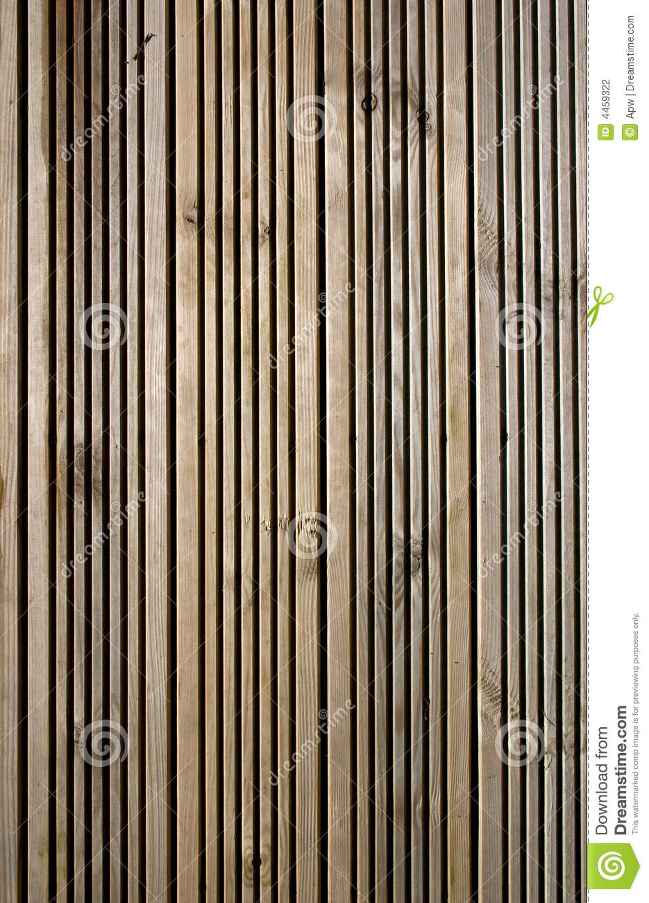 Wooden deck panels stock photography image