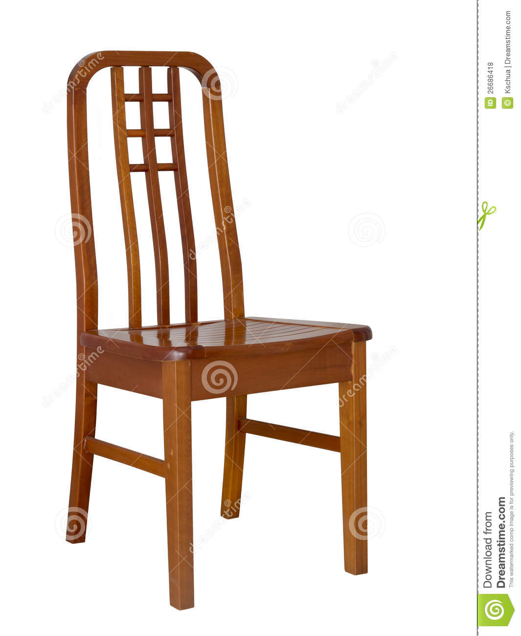 Wooden Dining Chair Royalty Free Stock Photos - Image ... Dining Chair Clipart