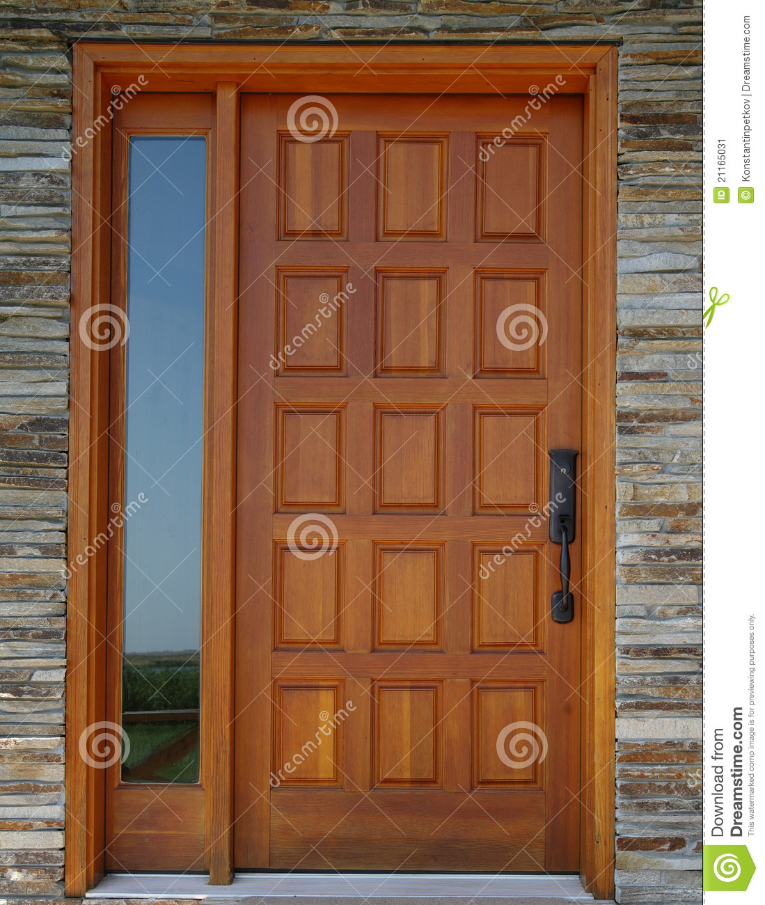 Wooden Door Stock Image Image 21165031