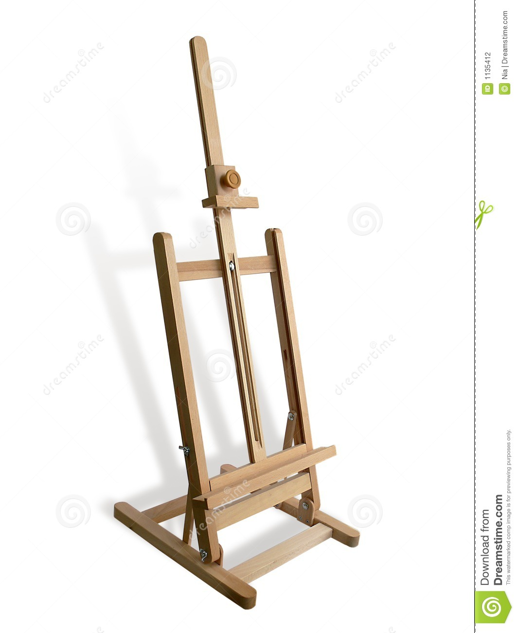 Wooden Easel Stock Photography - Image: 1135412