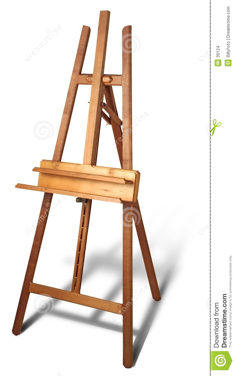 Wooden Painting Easel Plans