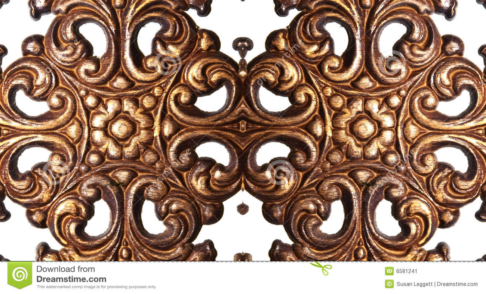 Wooden Embellishments Pattern Stock Image Image 6581241