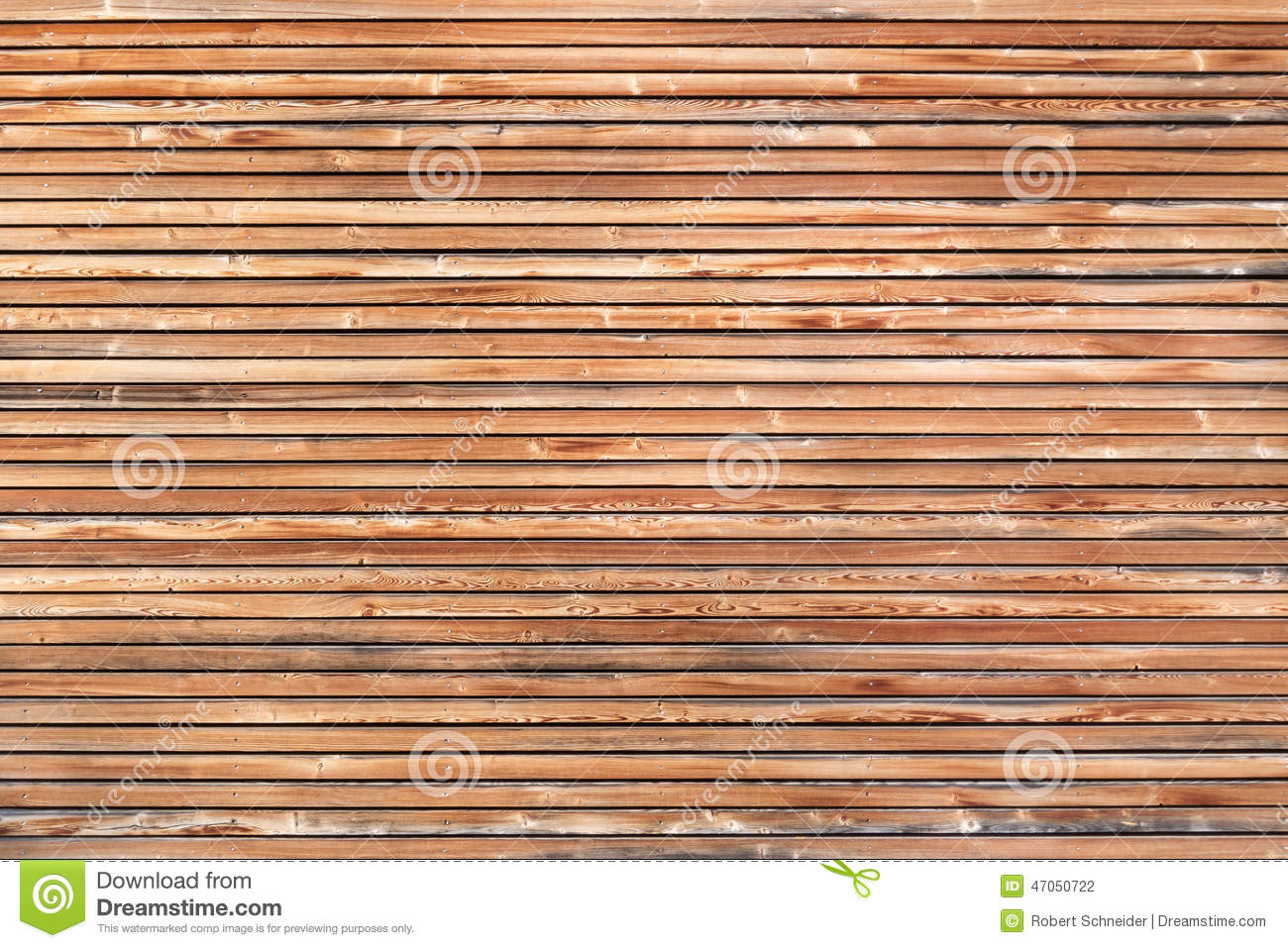 Wood Paneling Modern Wooden Facade Stock Photo Image 47050722