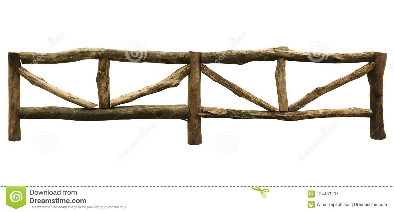 Wooden fence for farming stock image. Image of weathered - 124483237