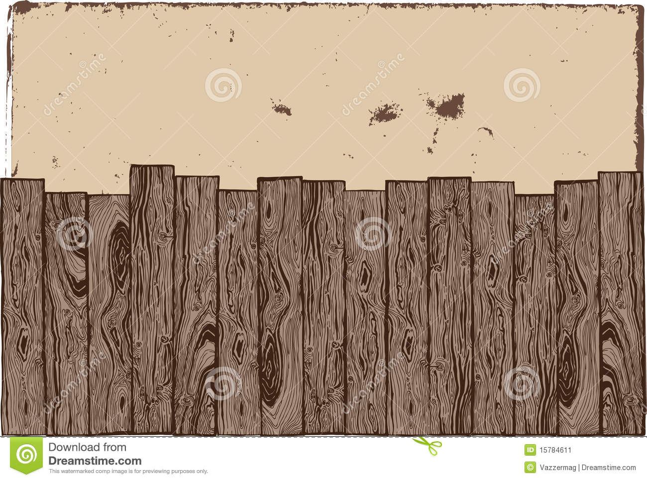 Fence Drawing Wooden Fence With Grunge Background Drawing Nongzico