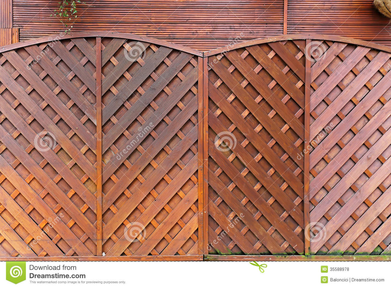 brown fencing garden panels wood ... - Wooden Fencing Panels Royalty Free Stock Photos - Image: 35588978