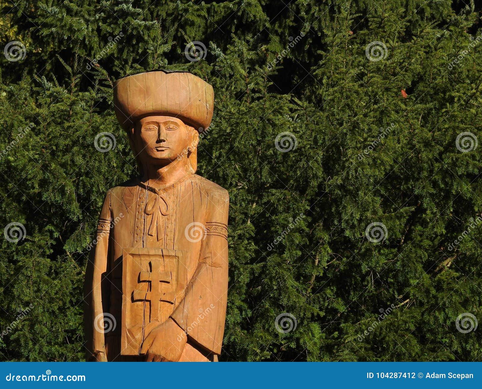 Wooden Figure - Slovak Legend Juraj Janosik