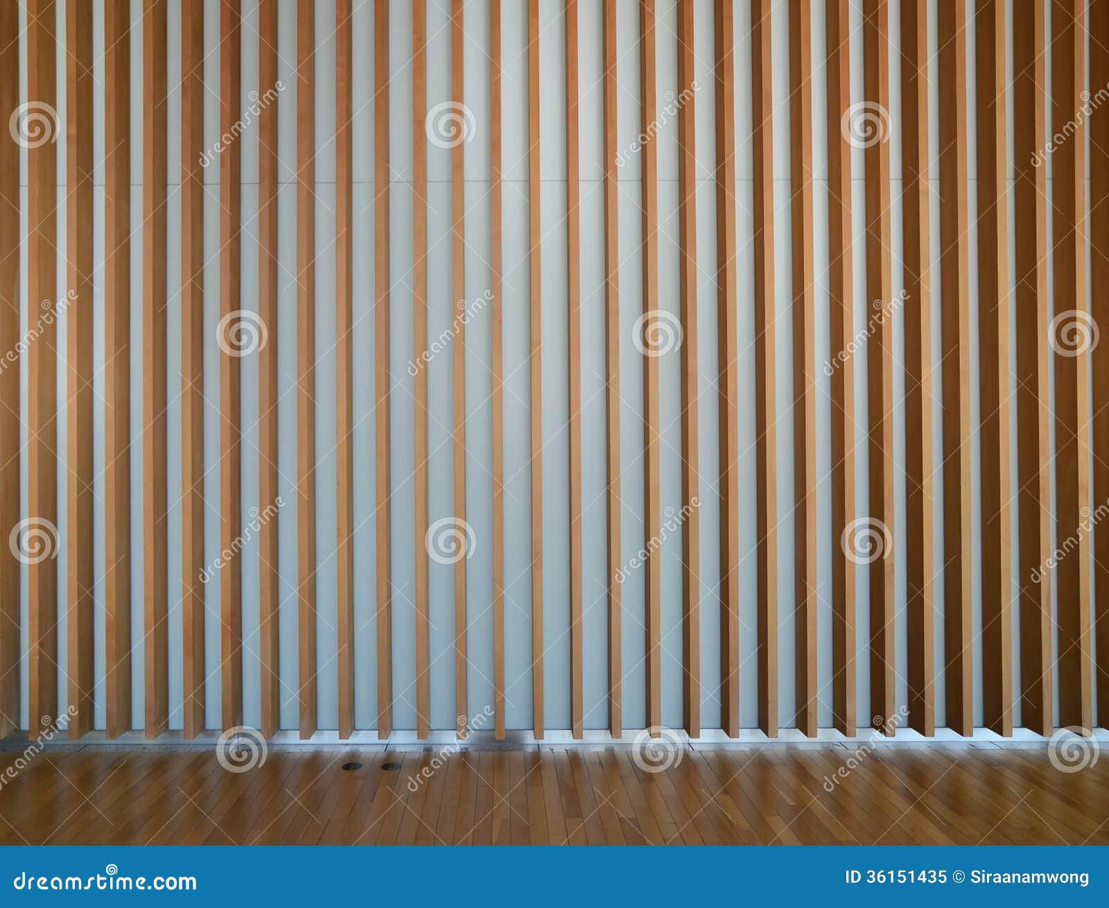 Wooden Fin Facade Interior Stock Image Image Of Frame