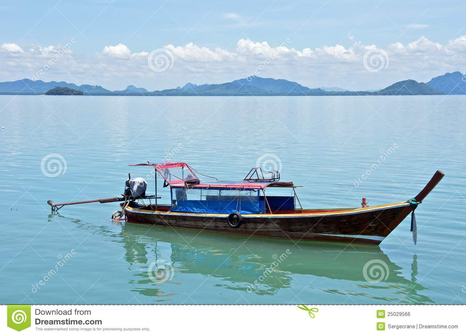 Wooden Fishing Boat Royalty Free Stock Image - Image: 25029566