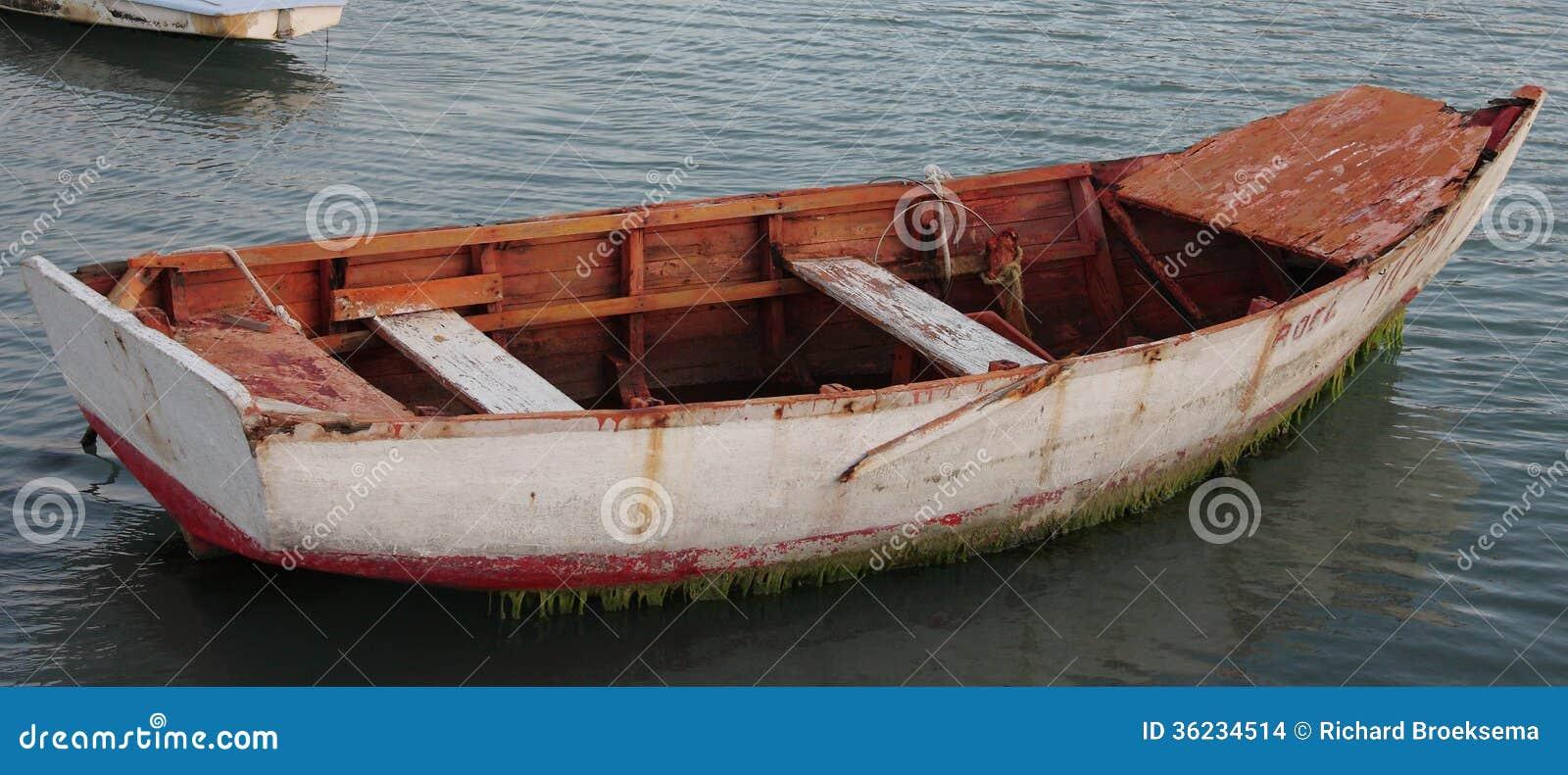Wooden Fishing Boat Stock Photo Image Of Moss Fishing