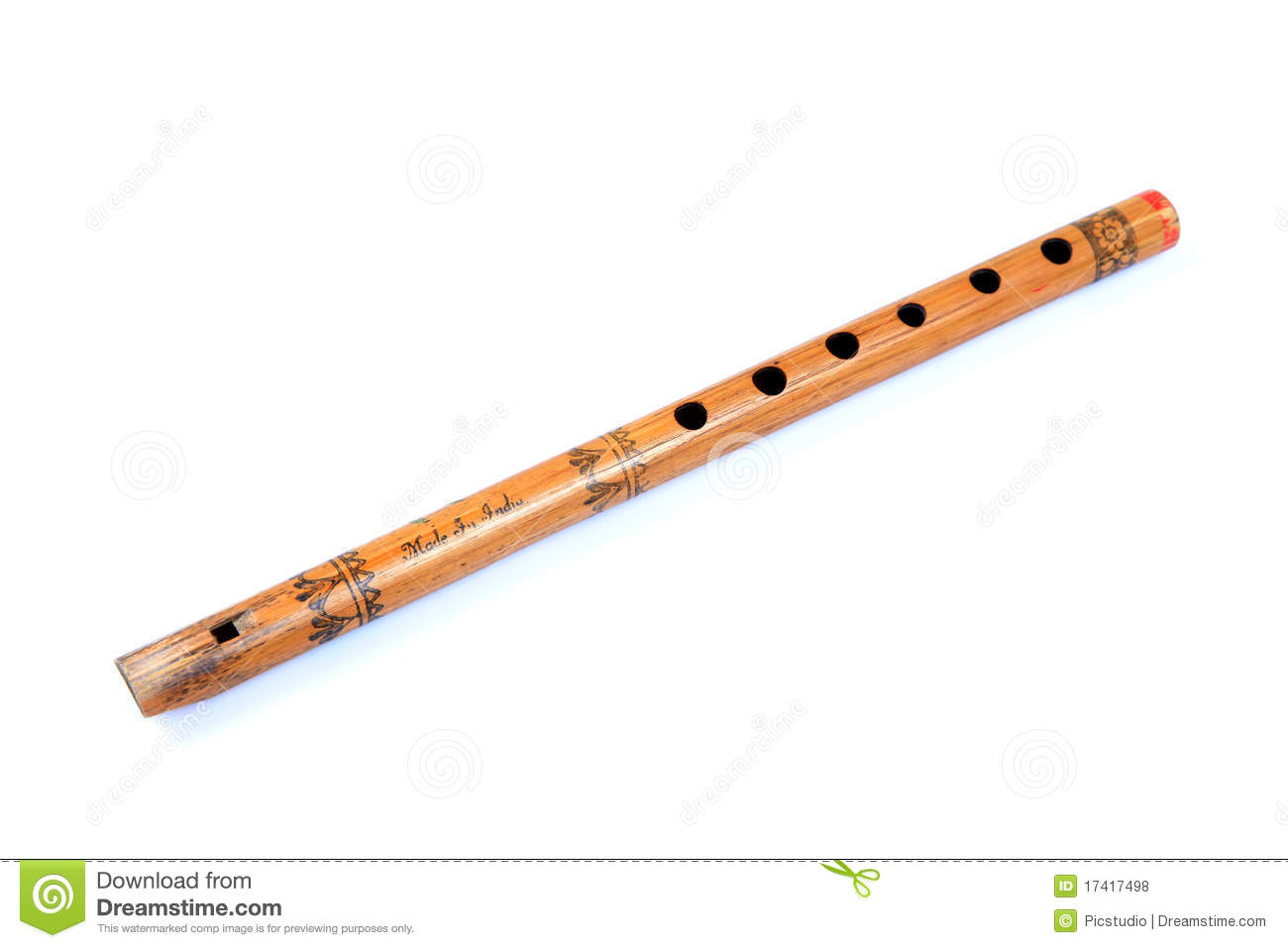 Wooden Flute Royalty Free Stock Photos - Image: 17417498