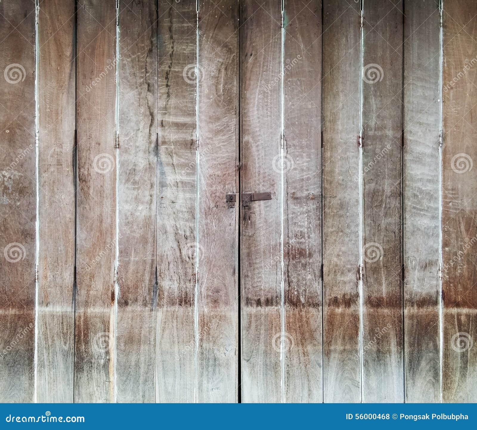 Download Wooden folding door stock photo. Image of rusty, decor - 56000468