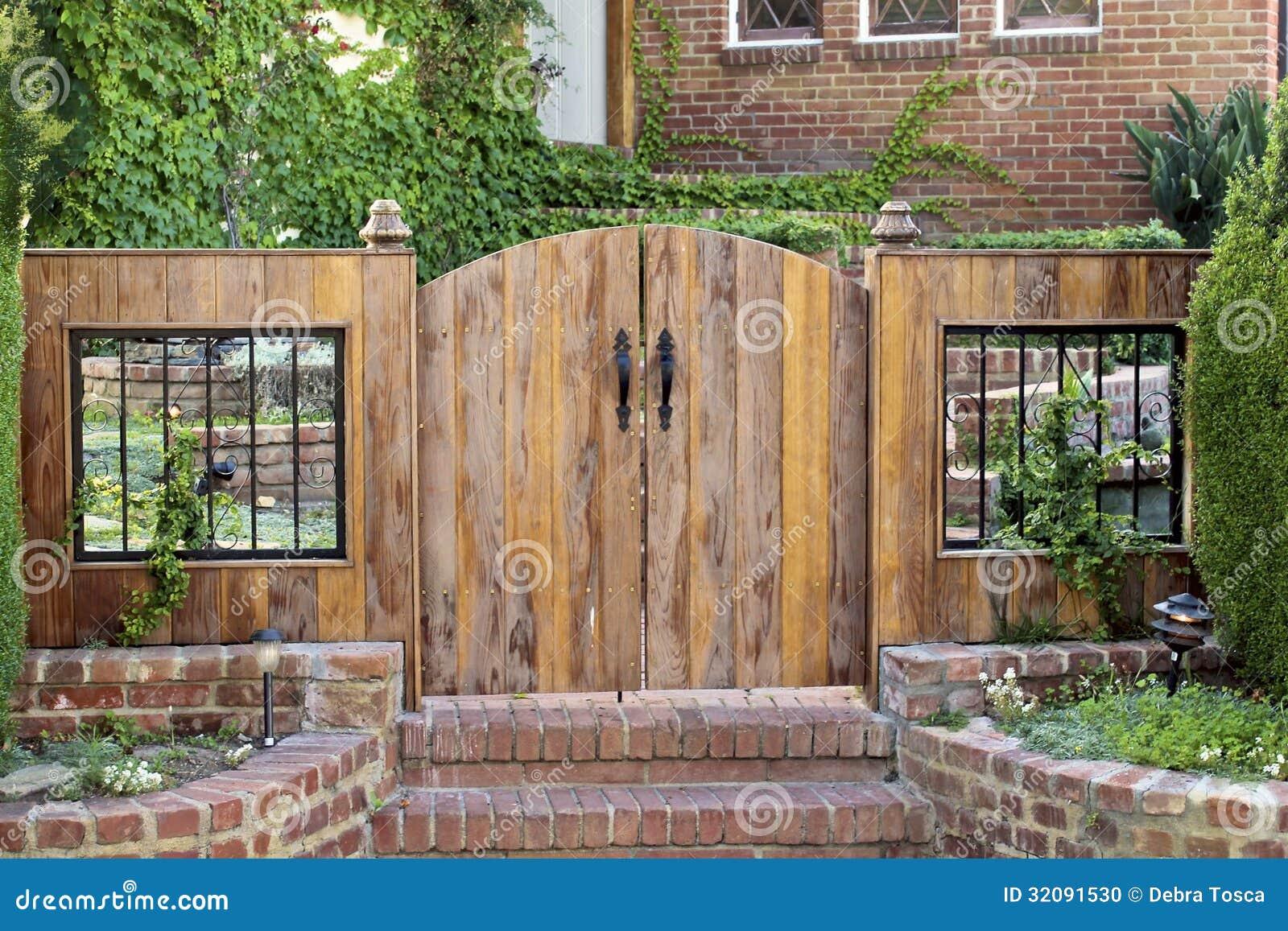 Gate Front Door And Wooden