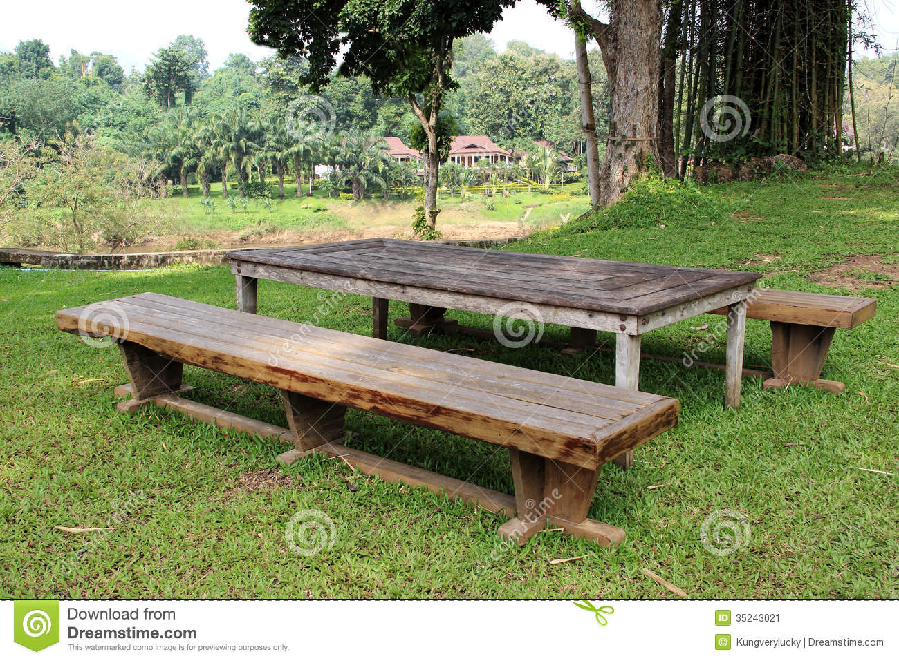 Wooden furniture thai style stock image image of for Outdoor furniture thailand