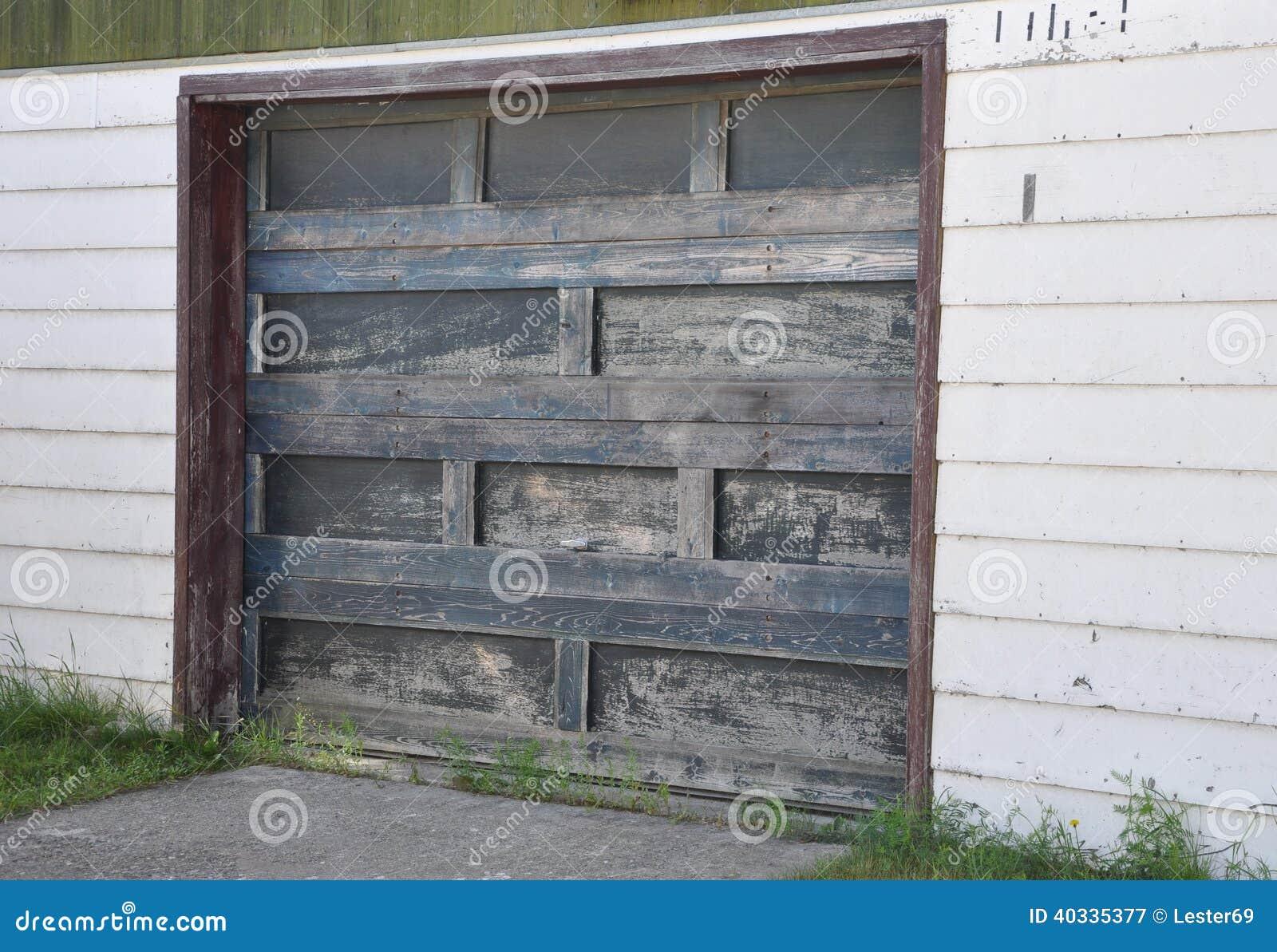 Wooden Garage Door Stock Image Image Of Concept Area 40335377