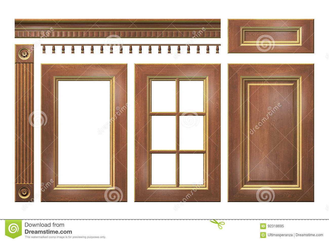 kitchen cabinet cornice banister illustrations amp vector stock images 18392