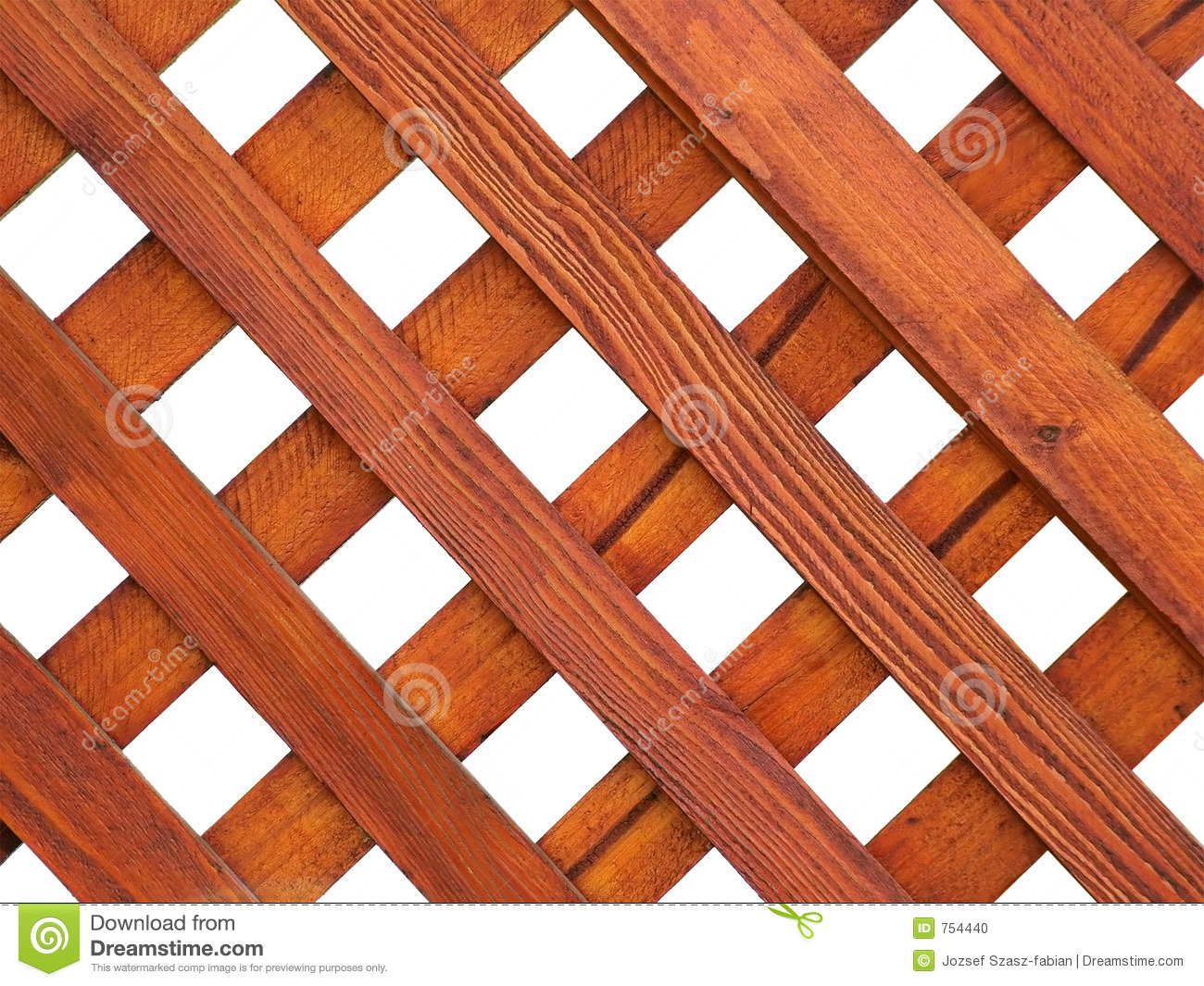 Wooden Grid Stock Photo - Image: 754440