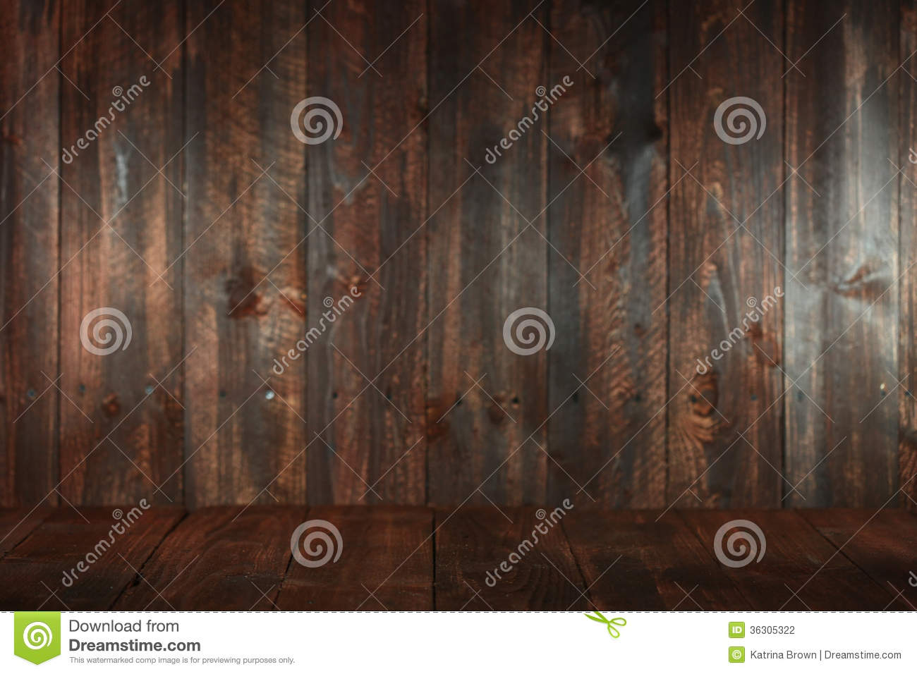 Wooden Grungy Empty Background. Insert Text or Objects