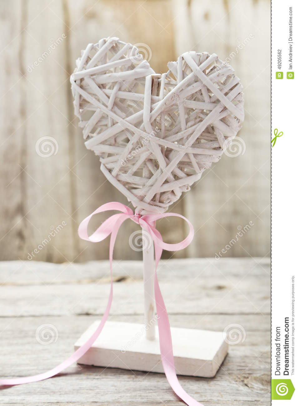 Wooden Decoration On A Grey Background Stock Photo - Image of ... on
