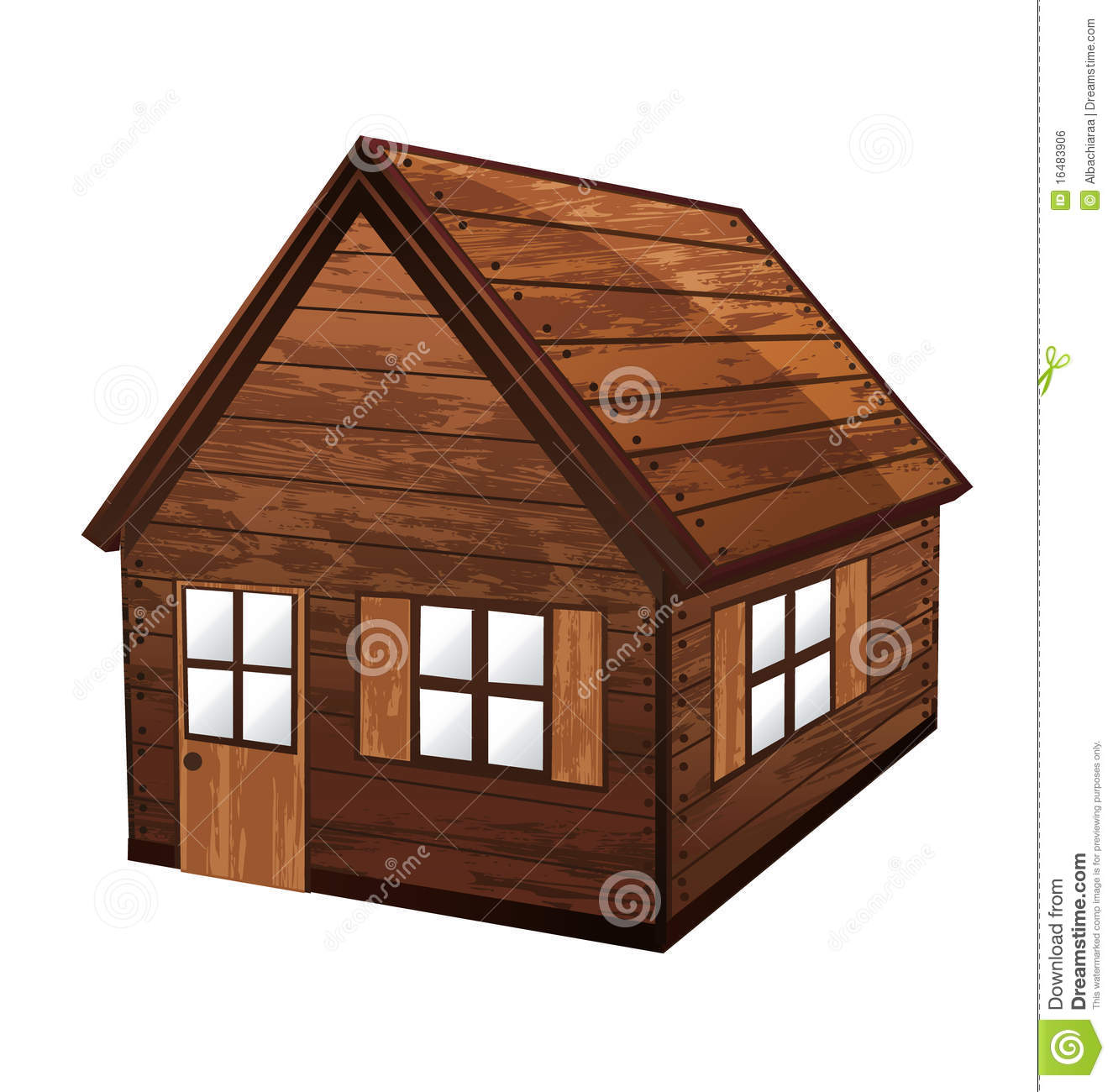 Wooden house royalty free stock image image 16483906 - How to make a wooden house ...