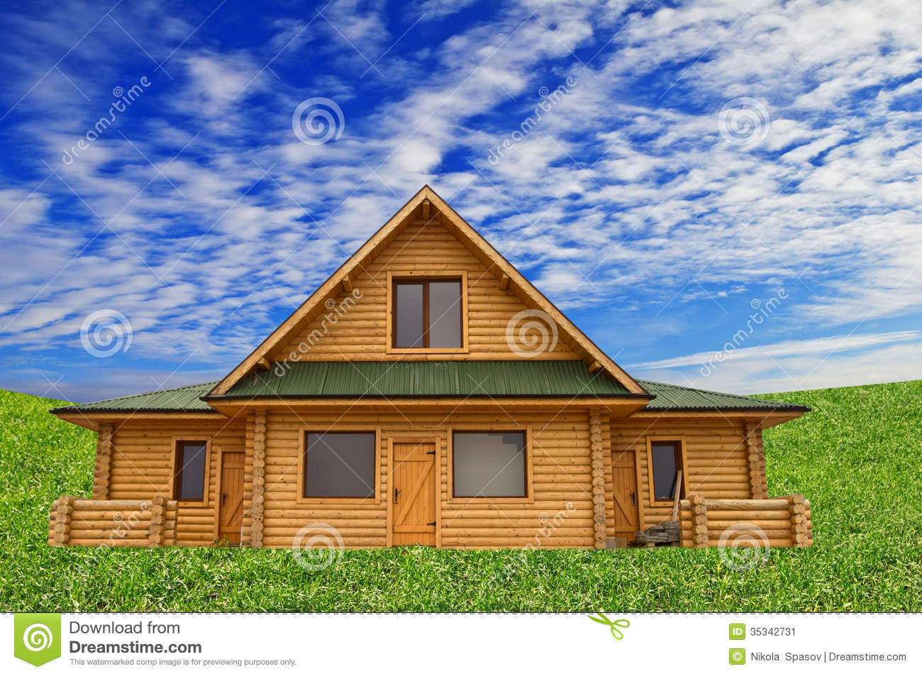 Dream eco home house new valley wooden