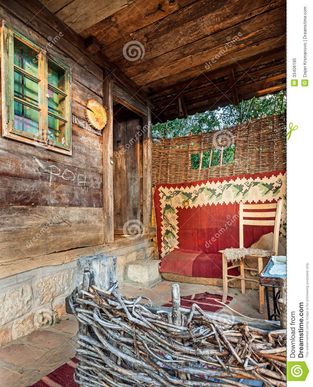 Wooden house royalty free stock photo image 33406195 - Houses made from natural materials ...